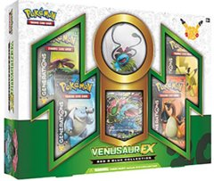 Pokemon Red & Blue Collection: Venusaur EX
