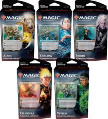 MTG Core Set 2020 Planeswalker Decks: Set of 5 Decks