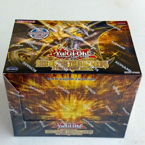 Yu-Gi-Oh Structure Deck: Rise of the True Dragons Display Box