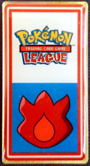 TCG Indigo League Volcano Badge - Seafoam Islands