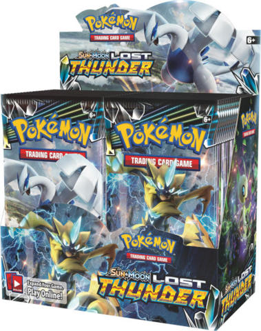 Pokemon Sun & Moon SM8 Lost Thunder Booster Box