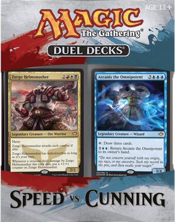 MTG Duel Decks: Speed vs Cunning
