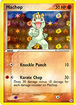 Machop - 64/101 - Common - Reverse Holo
