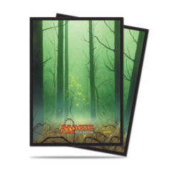 Ultra Pro Standard Size Mana 5 Forest Sleeves - 80ct