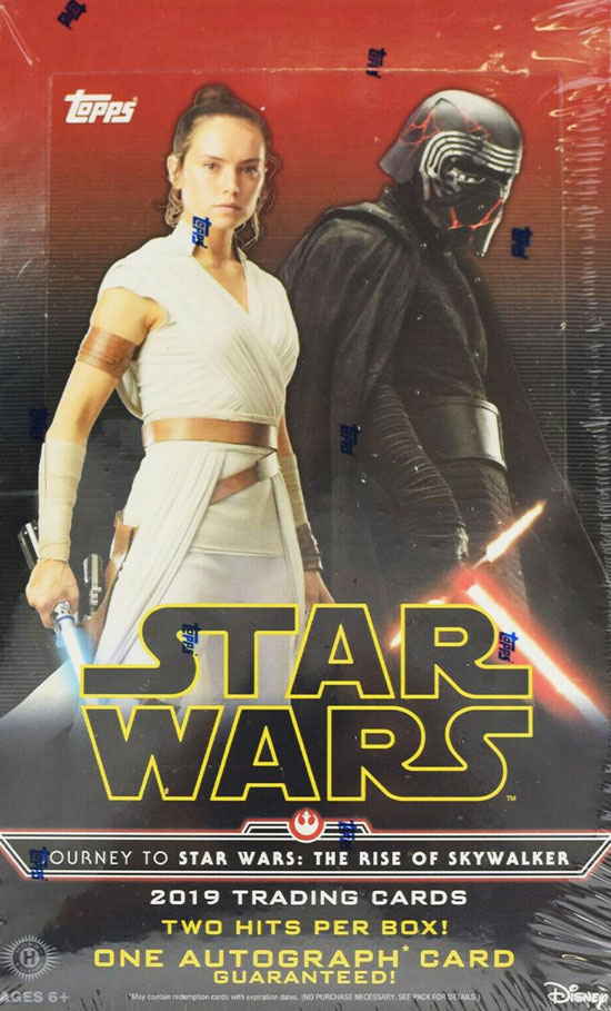 Topps Journey To Star Wars The Rise of Skywalker 2019 Trading Cards Starter Pack