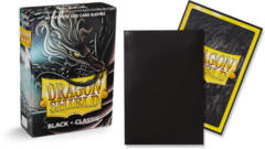 Dragon Shield Classic Japanese Mini-Size Sleeves - Black - 60ct