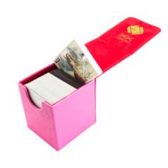 Dex Protection Creation Line Small Deckbox - Pink