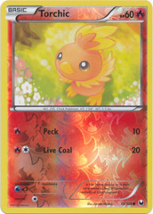 Torchic - 15/108 - Common - Reverse Holo