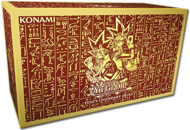 Yu-Gi-Oh Yugis Legendary Decks Box Set - Unlimited Edition