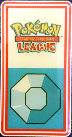TCG Indigo League Boulder Badge - Pewter City