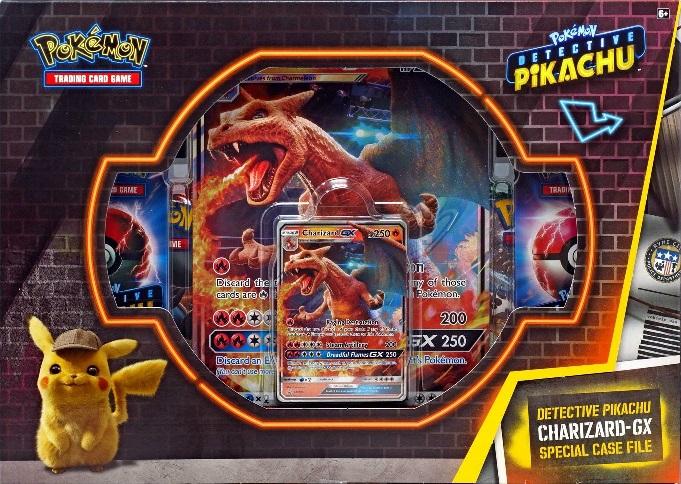 Charizard-GX Tin NEW Pokemon TCG Detective Pikachu Collector Tins