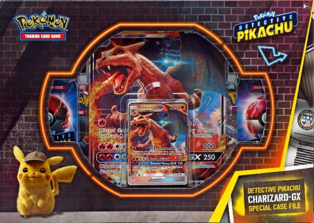 Pokemon Detective Pikachu Charizard Gx Special Case File Pokemon Sealed Products Pokemon Tins Box Sets Collector S Cache