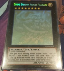 Divine Dragon Knight Felgrand - SHSP-EN056 - Ghost Rare - 1st Edition