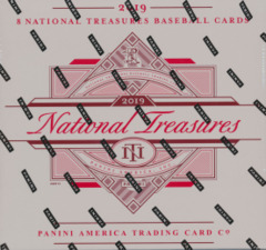2019 Panini National Treasures MLB Baseball Hobby Box -- REGULAR
