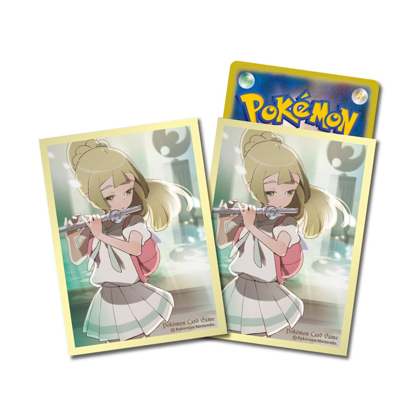 Japanese Pokemon Sun & Moon Lillie Ceremony on the Altar Sleeves - 64ct