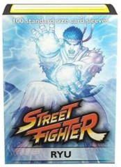 Dragon Shield Classic Art Standard-Size Sleeves - Street Fighter Ryu - 100ct