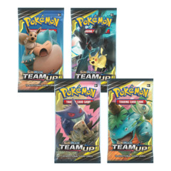 Pokemon SM9 Team Up 36ct Booster Pack Lot