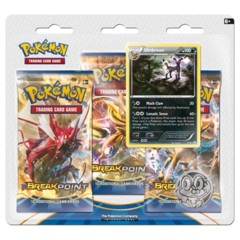 Pokemon XY9 BREAKpoint 3-Booster Blister Pack - Umbreon Promo