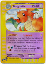 Dragonite - 43/165 - Rare - Reverse Holo