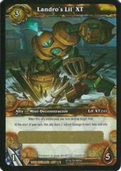 Landro's Lil XT Loot Card