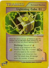 Lightning Cube 01 - 127/147 - Uncommon - Reverse Holo