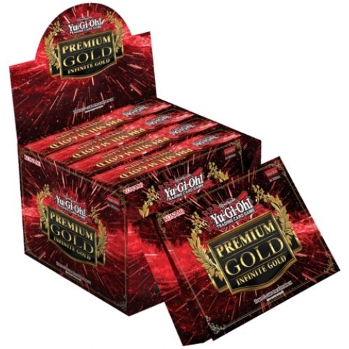 Yu-Gi-Oh Premium Gold 3: Infinite Gold Booster Display Box