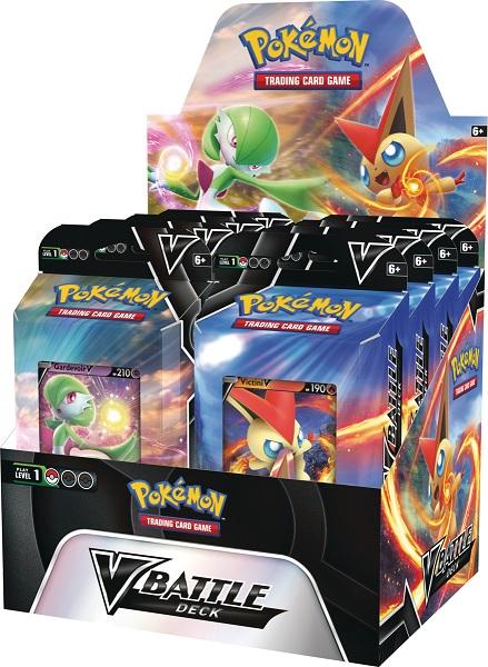 Pokemon V Battle Deck DISPLAY Box - Victini & Gardevoir