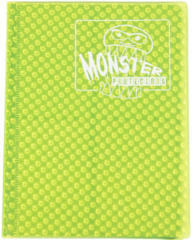 Monster Protectors 4-Pocket Binder - Holo Highlighter Yellow
