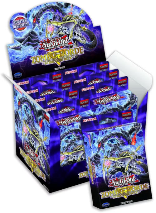 Yu-Gi-Oh Structure Deck: Zombie Horde Display Box 8ct