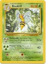 Beedrill - 17/102 - Rare - Unlimited Edition