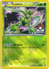 Scyther 4/108 Crosshatch Holo 2nd Place Promo - Pokemon League Challenge