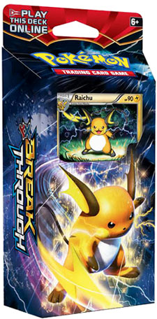 Pokemon XY8 BREAKThrough Theme Deck: Burning Spark