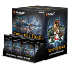 Wizkids Magic the Gathering Creature Forge: Overwhelming Swarm Booster Display