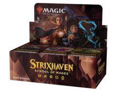 MTG Strixhaven: School of Mages DRAFT Booster Box