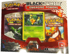 Pokemon Black & White BW2 Emerging Powers 3-Booster Blister Pack - Pansage Promo
