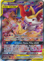 Charizard & Braixen GX SM230 Full-Art Promo - TAG TEAM Generations Premium Collection
