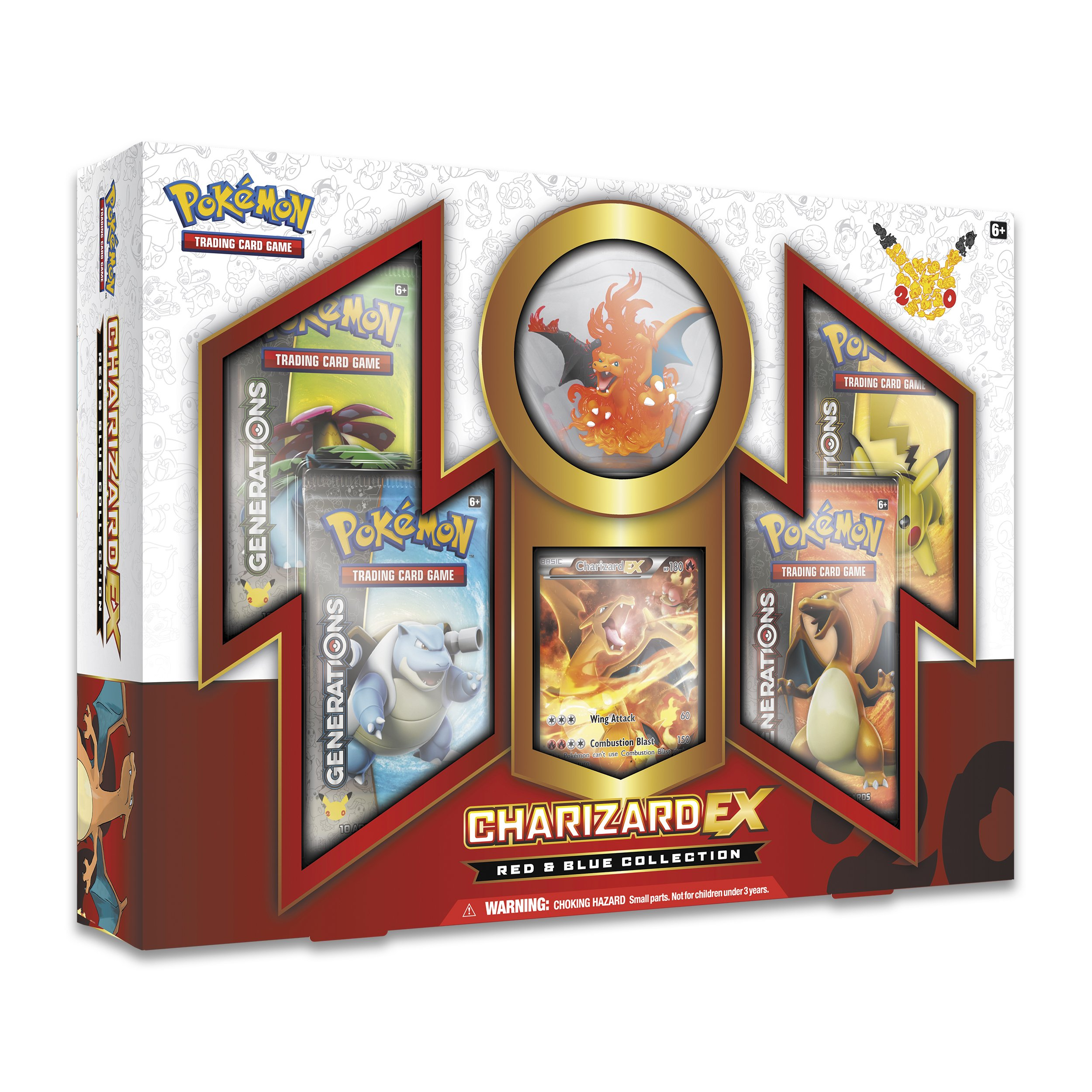 Pokemon Red & Blue Collection: Charizard EX