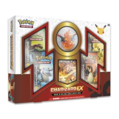 Pokemon  Charizard EX Box Red & Blue Collection