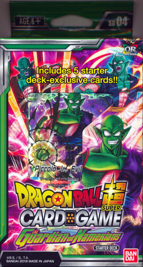 Dragon Ball Super Card Game DBS-SD04 Series 4 Starter Deck The Guardian of the Namekians