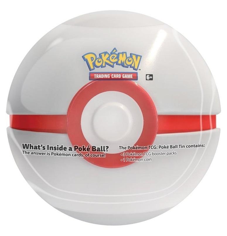 2019 Pokemon Premier Ball Tin