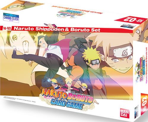 Naruto Boruto Card Game Nb 02 Naruto Shippuden Boruto Set