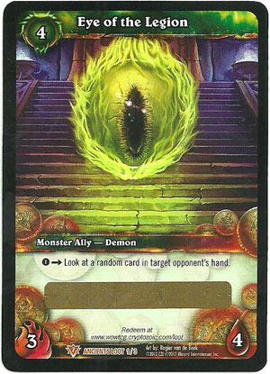 Eye of the Legion Loot Card