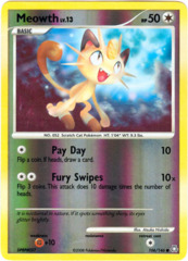 Meowth - 106/146 - Common - Reverse Holo