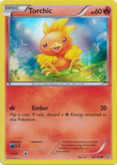 Torchic 25/160 Sheen Holo Promo - Collector's Chest Exclusive