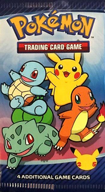 Pokemon McDonalds 25th Anniversary Booster Pack