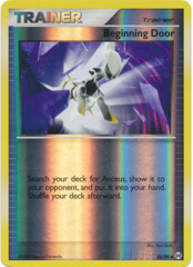 Beginning Door - 82/99 - Uncommon - Reverse Holo