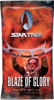 Star Trek CCG Blaze of Glory Booster Pack