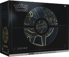 Pokemon Sword & Shield Elite Trainer Box PLUS - Zacian
