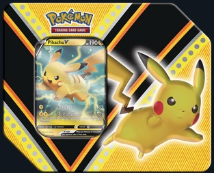 Pokemon V Powers Tin - Pikachu V