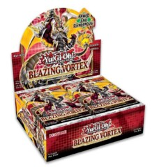 Yu-Gi-Oh Blazing Vortex 1st Edition Booster Box